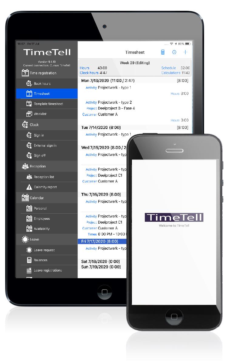 TimeTell App